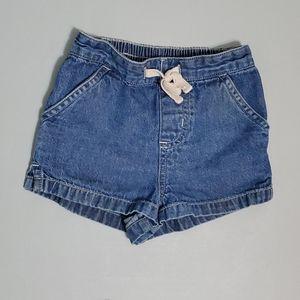 🐒  6/$10.00  Circo blue jean Shorts